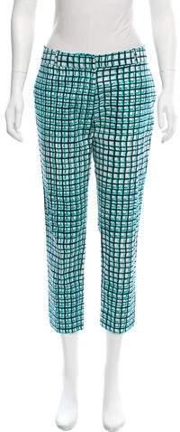 Kate Spade New York Mid-Rise Printed Pants
