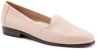 Trotters Classic Tumbled Leather Flats - Liz