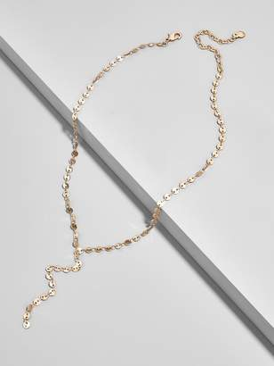 BaubleBar Adyson Y-Chain Necklace