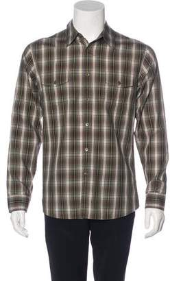 James Perse Plaid Woven Shirt