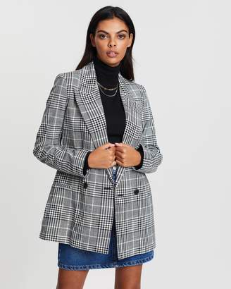 Mng Check Suit Blazer