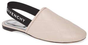 Givenchy Rivington Logo Slingback Flat