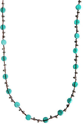 Lucky Brand Hammered Coin Necklace
