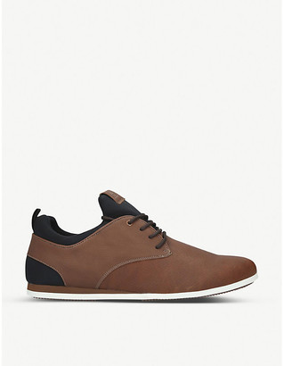 Aldo Preilia faux-leather trainers