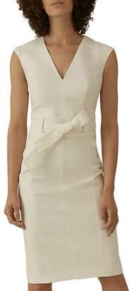 Karen Millen Tie-Waist Sheath Dress