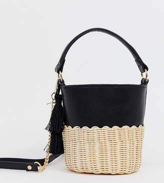 Aldo Aceille Basket Bag With Tassle