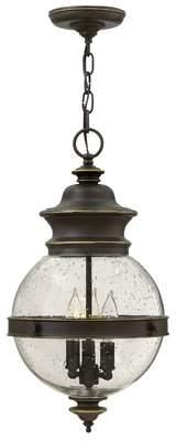 Charlton Home Pumphrey 3-Light Globe Pendant