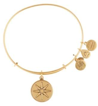 Alex and Ani 'Star of Venus' Expandable Wire Bangle