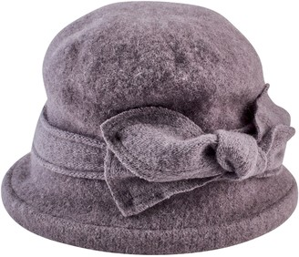 Cloche San Diego Hat Co. Soft Knit with Bow