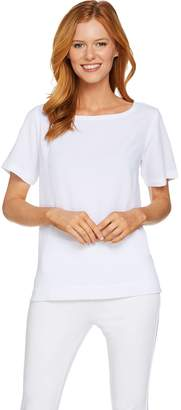 Linea By Louis Dell'olio by Louis Dell'Olio Gauze Short Sleeve Tee
