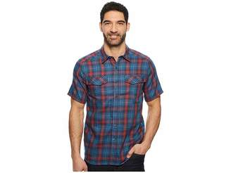 Royal Robbins Merinolux Plaid Short Sleeve Shirt Men's Short Sleeve Button Up