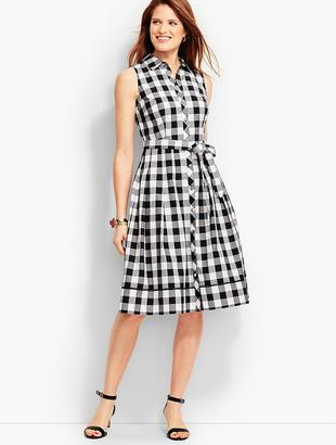 Gingham Shirtdress $149 thestylecure.com