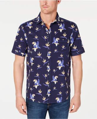 Tommy Bahama Men's Toucan Do Tropical Stripe Print Shirt