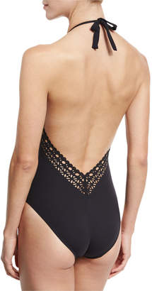 Lise Charmel Ajourage Couture Halter One-Piece Swimsuit