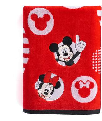Disney Disney's Mickey & Minnie Mouse Circles Bath Towel