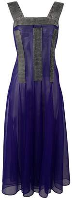 Christopher Kane crystal mesh dress
