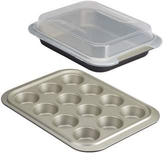Anolon Shared Lid Bakeware Set (3 PC)