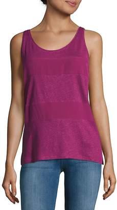 Sandro Women's Sleeveless Linen Top