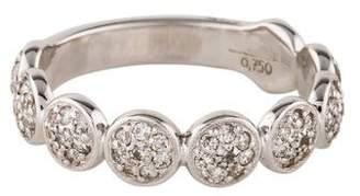 Gurhan 18K Diamond Spell Pebble Band