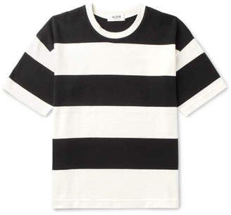 Aloye + G.f.g.s. Striped Cotton T-Shirt