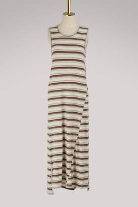 James Perse Sleeveless striped dress