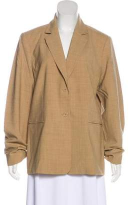 Magaschoni Wool Single-Breasted Blazer