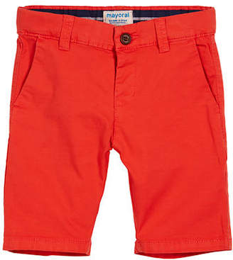 Mayoral Stretch Chino Shorts, Size 3-7