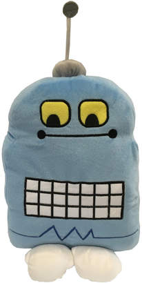 Happy Kids Blue Robot Cushion