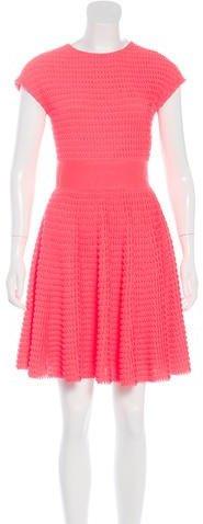 Christian Dior Mini Flounce Dress