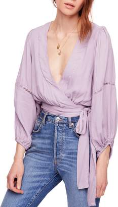 Free People Dream Girl Wrap Top