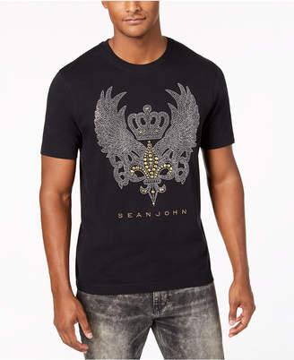 Sean John Men's Crown Wing Graphic T-Shirt