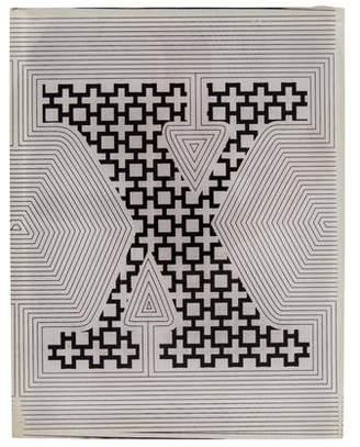 Jonathan Adler Block Letter X Decorative Sculpture