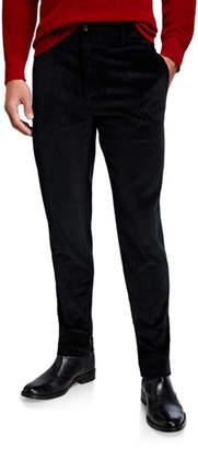 Salvatore Ferragamo Men's Straight-Leg Corduroy Pants