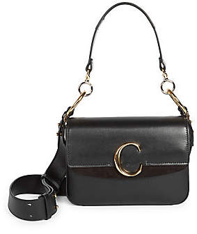 Chloé Women's C Leather Double Carry Bag