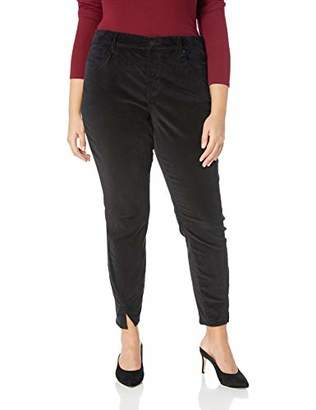 NYDJ Women's Plus Size Ami Skinny Velvet Jean with Side Seam Detail
