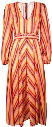 Zimmermann striped maxi dress