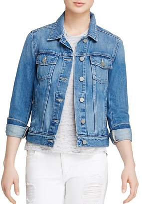 Paige Denim Jacket - Rowan in Stark $199 thestylecure.com
