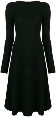 Emporio Armani longsleeved midi dress