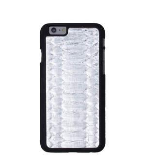 Felony Case Metallic Silver Python Belly iPhone 6/6s Case