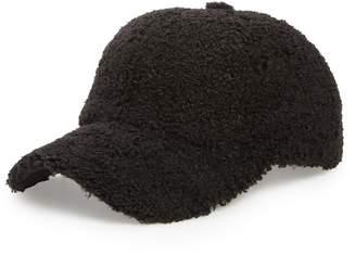 Sole Society Fleece Baseball Cap