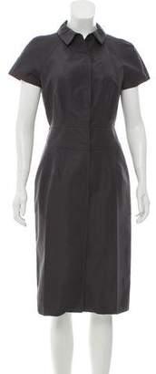 Prada Structured Midi Dress