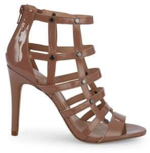 BCBGeneration Jenna Patent Cage Sandals