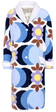 Miu Miu Miu Miu Printed cotton coat
