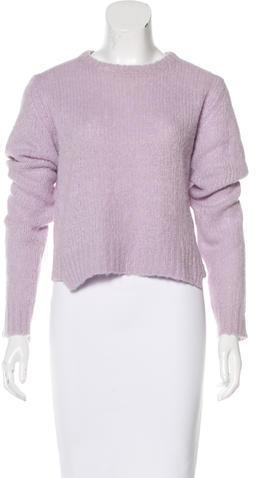 A.L.C.A.L.C. Alpaca Crew Neck Sweater