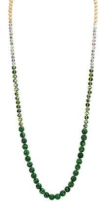 Wild Lilies Jewelry Malachite Beaded Necklace