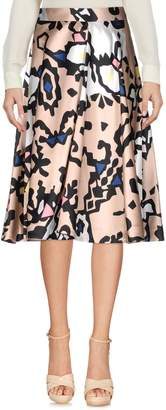 MSGM Knee length skirts
