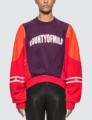Marcelo Burlon County of Milan Colorblock Sweatshirt