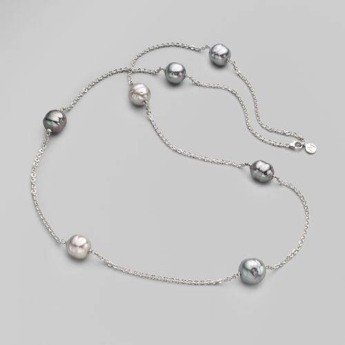 Majorica Organic Pearl Link Necklace