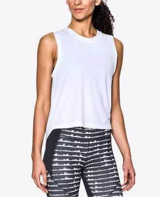 Under Armour Breathe Muscle Tank Top $44.99 thestylecure.com