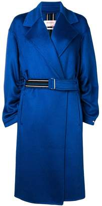 Sportmax belted single-breasted coat